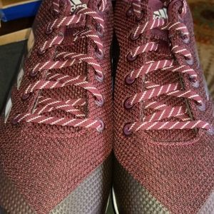Adidas Men's Poweralley 5 Maroon Size 16 Cleat.